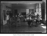 Students in classroom at Highland School, The Highlands, 1930