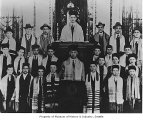 Choir at Bikur Cholim Synagogue, Seattle, 1916