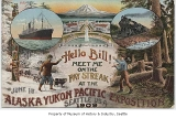 Alaska-Yukon-Pacific Exposition promotional postcard, Seattle, ca. 1909