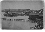 Waterfront from near Yesler, Seattle, ca. 1882