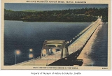 Lake Washington floating bridge, Seattle, n.d.