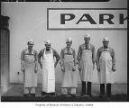 Borg's Market employees, Seattle, 1940