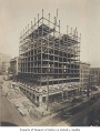 Alaska Building under construction, Seattle, August 9, 1904