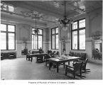King Street Station ladies waiting room, Seattle, ca. 1906