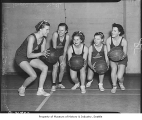 Basketball team, probably in Seattle, 1937