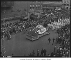 Aeronautical mechanics' float in Labor Day parade, Seattle, 1937