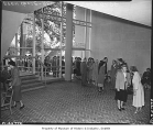 Open house at new school administration building, Seattle, 1949