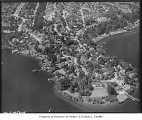 Aerial of Laurelhurst neighborhood from south, Seattle, 1938