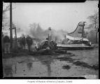 Plane crash at Sea-Tac Airport, Bow Lake, November 30, 1947