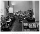 Harry Hartman Booksellers interior, Seattle, 1944