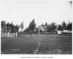 Entrance to Woodland Park, Seattle, ca. 1898
