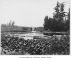 Montlake canal, Seattle, ca. 1900