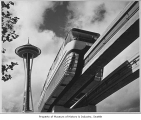 Monorail and Space Needle, Seattle World's Fair, 1962