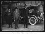 James E. Mahoney on way to court, Seattle, 1921