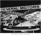Firebird III on display in General Motors exhibit, Seattle World's Fair, 1962