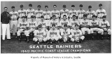 Seattle Rainiers, Seattle, 1940