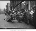 Chinese Lion Dance on Seventh Avenue South, Seattle, ca. 1930