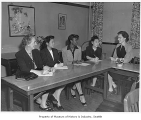Bailey Gatzert School PTA officers, Seattle, 1946