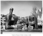 Reclining Figure III sculpture, Seattle World's Fair, 1962