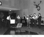 KOMO radio show, Seattle, March 1937
