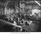 Workers in shingle mill, ca. 1915