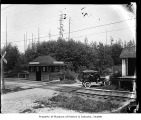 Interurban station, Echo Lake, ca. 1919