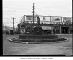 Chief Sealth fountain, Seattle, ca. 1925