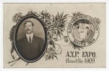 Individual Portrait from Alaska-Yukon-Pacific Exposition, Seattle, 1909.