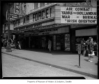 Telenews Theatre marquee and entrance, Seattle, ca. 1944
