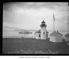 Alki Point lighthouse, Seattle, 1931