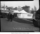 Unemployed camp at City Hall Park near Third and Yesler, Seattle, 1939