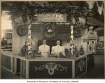 Crescent Manufacturing Company Mapleine exhibit in Boston, 1911