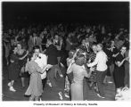 Students dancing at all-city high school dance, Seattle, 1938
