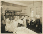 Women sorting laundry at Supply Laundry Company, Seattle, 1917