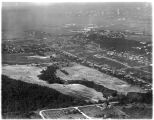 Aerial view of the West Seattle Golf Course, looking northeast, 1937