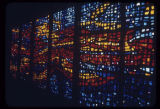 Stained glass window, Christian Witness Pavilion, Seattle World's Fair, 1962