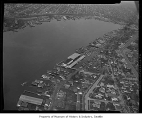 Aerial of Lake Union and Eastlake neighborhood from south, Seattle, 1958