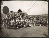 Chinese students arriving on S.S. President Jackson, September 1, 1923