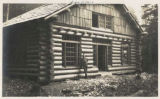 Mountaineers lodge newly completed, Rockdale, Washington, September  5, 1914