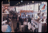 Interior of the Hall of Industry, Seattle World's Fair, 1962