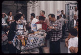 Visitors buying souvenirs, Seattle World's Fair, 1962