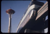 The Monorail with the Space Needle, Seattle World's Fair, 1962