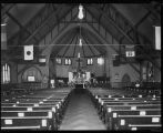 St. Mark's Church decorated for Easter, ca. 1919