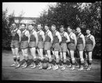 Men's basketball team at the University of Washington, 1923
