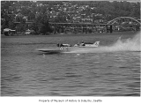 Hydroplane Miss Budweiser in Seafair trophy race, Seattle, 1971