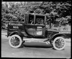 Carnation Milk truck, ca. 1921