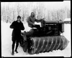 Snow vehicle, ca. 1926