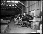 Interior view of a Sumner factory, January 16, 1926