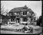 Olympic Manor house under construction, April 7, 1926.