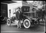 City dogcatcher and truck, September 14, 1921